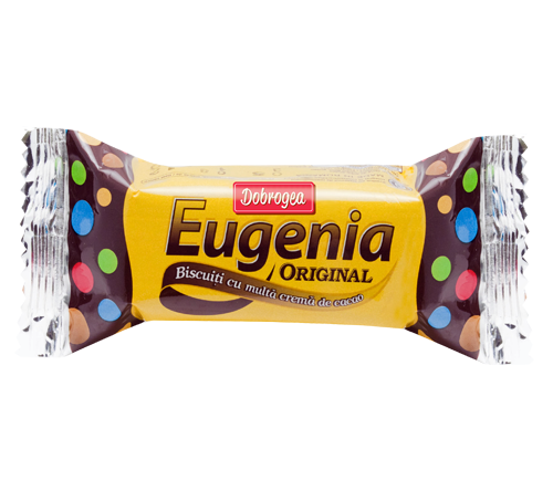 """""""Eugenia"""" biscuits – a Romanian brand that takes one back ..."""