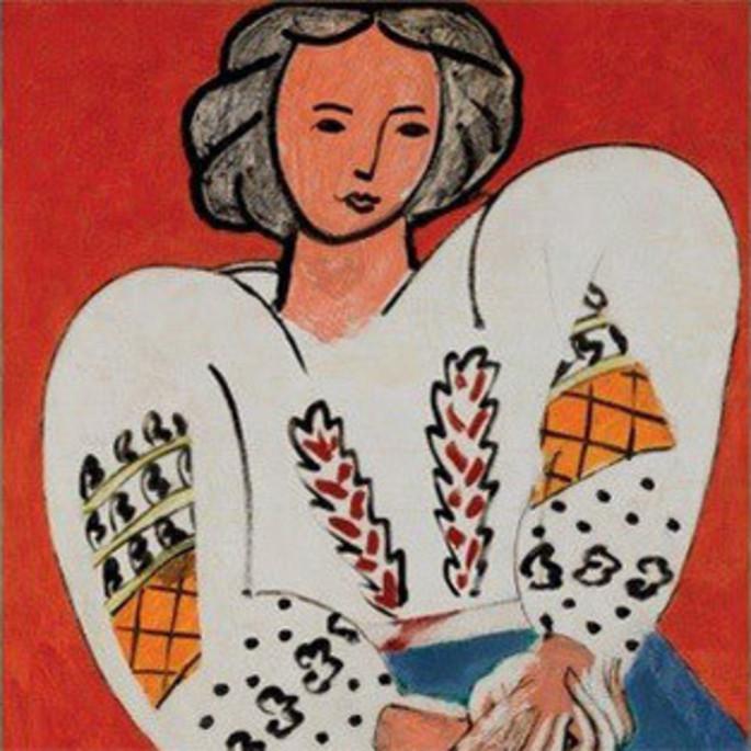 Henri Matisse - La Blouse Roumain - 1940