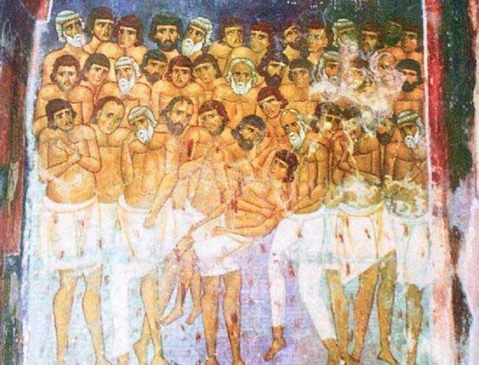 The Mucenici - the forty holy martyrs