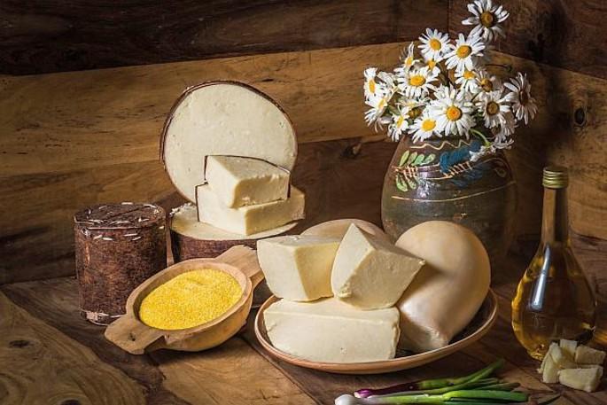 Il formaggio Burduf - Mărginimea Sibiului