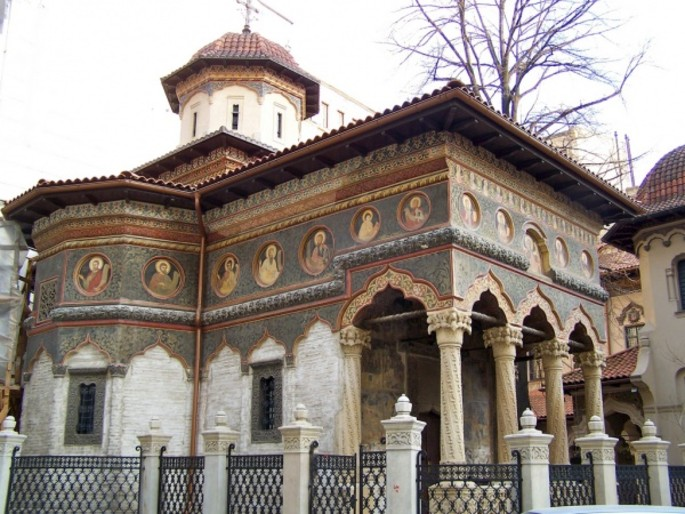 The Stavropoleos Church, Bucharest