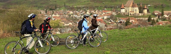 "Cyclotourism on ""The Hills of Transylvania"""