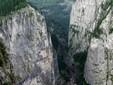 Bicaz Gorge in the Eastern Carpathians