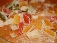 Cornetti con delizia turca, marmellata o confettura