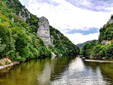"""Decebalus Rex"" – the biggest stone sculpture in Europe, Danube river"