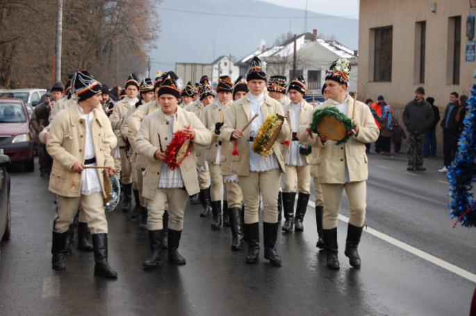 The drummers of Săvârşin