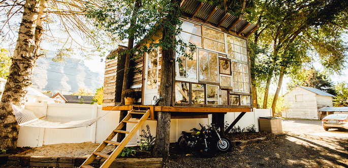 Eco tiny house