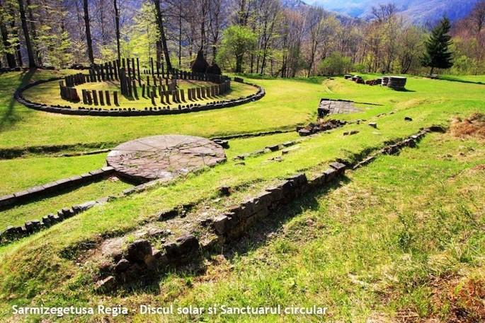 Sarmiegetusa Regia - The Solar Disk and the Circular Sanctuary