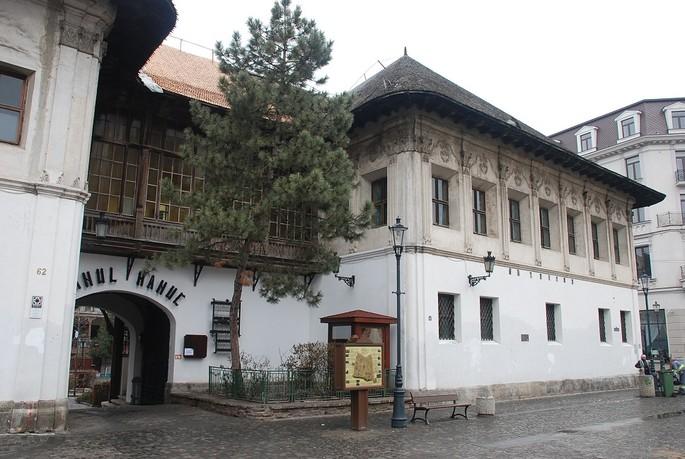 The Manuc's Inn, Bucharest - the entrance