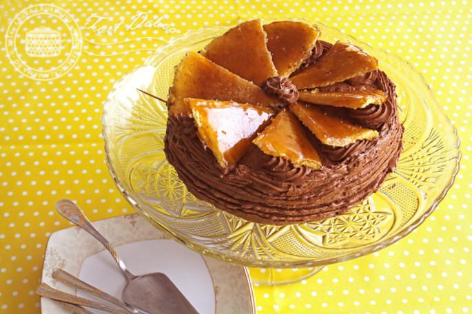 Tort Dobos - Gastronomie din  Banat