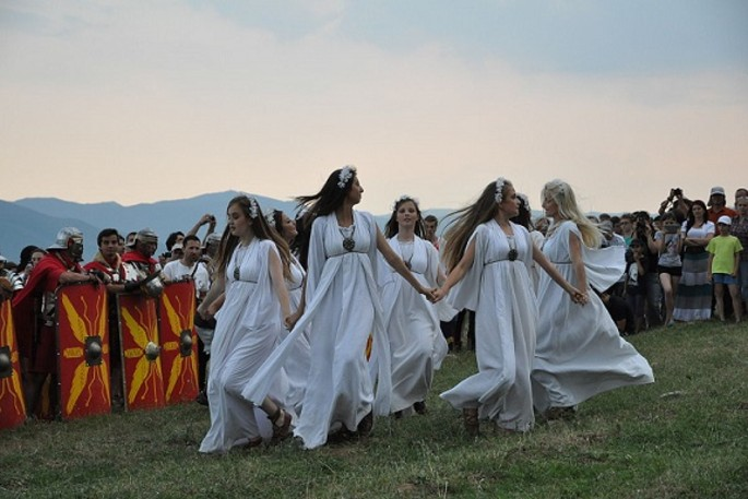 Ielele, Romanian mythology