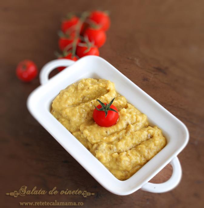 Salata de Vinete - rețeta originală românească