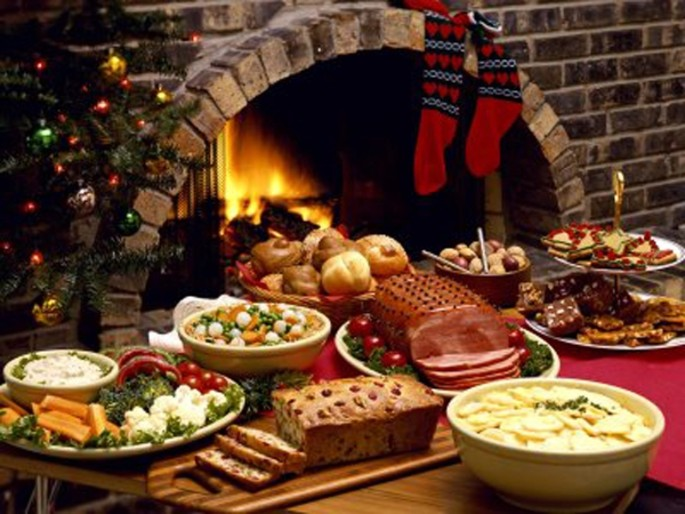 The Christmas lunch