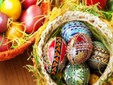Easter - painted eggs