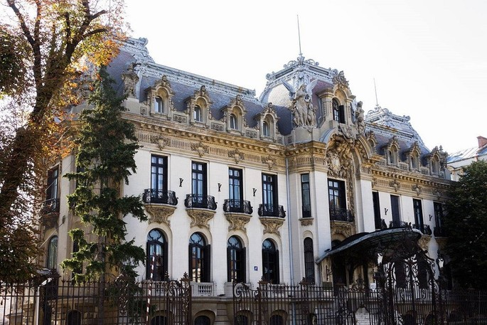 The Cantacuzino Palace in Bucharest