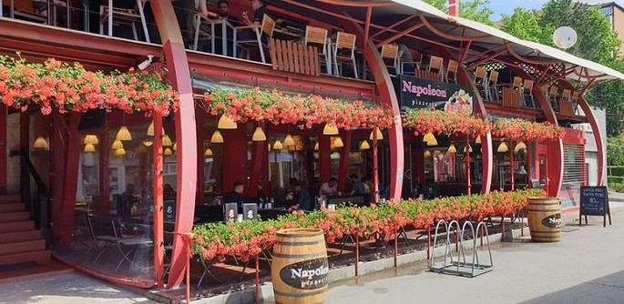 Napoleon Pizza Place