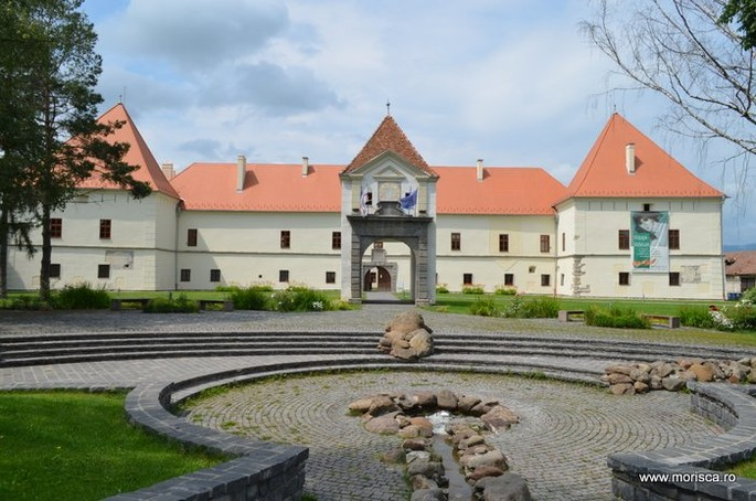 Cetatea Miko în Miercurea-Ciuc, județul Harghita