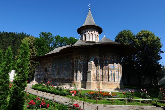Il Monastero di Voroneț