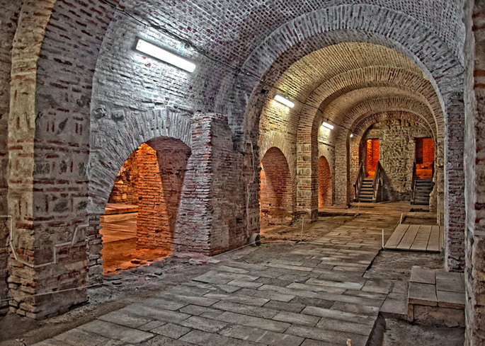 Cellar in the Old Court, Bucharest