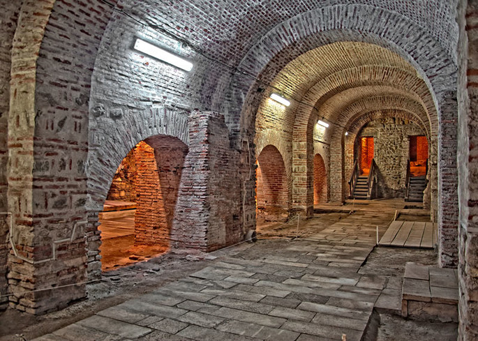 Cellar in the Old Court, Bucharest