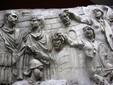 Columna lui Traian la Bucureşti - regele Decebal