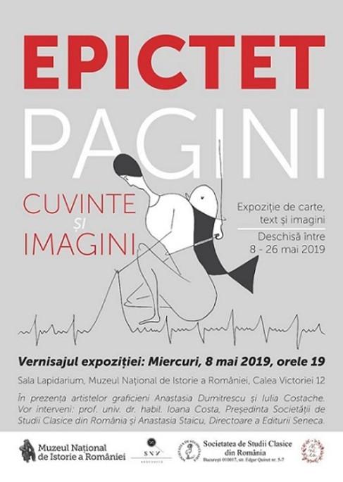 """Deschiderea expoziției temporare """"Epictet. Pagini: cuvinte și imagini"""" la Muzeul Național de Istorie a României"""