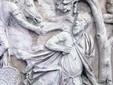 The Trajan's Column in Bucharest - the suicide of Decebal